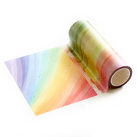 Pinkfresh Studio - Washi Tape - Rainbow with Splatters