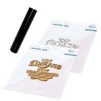 Pinkfresh Studio - Hot Foil Plate, Die and Glimmer Black Hot Foil Roll - You Sparkle Bundle