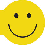 Paper House Productions - Die Cut Photo Album - Smiley Face
