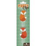 Paper House Productions - Puffy Clips Page Markers - Foxes