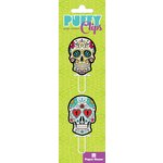 Paper House Productions - Puffy Clips Page Markers - Sugar Skulls