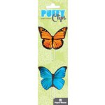 Paper House Productions - Puffy Clips Page Markers - Butterflies