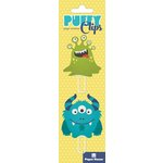 Paper House Productions - Puffy Clips Page Markers - Monsters