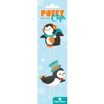 Paper House Productions - Puffy Clips Page Markers - Penguins