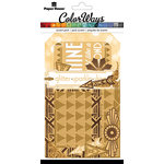 Paper House Productions - Color Ways Collection - Gatsby - Accents - Die Cut Cardstock Pieces