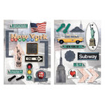 Paper House Productions - New York City Collection - Die Cut Chipboard Pieces - New York City