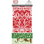 Paper House Productions - Home for Christmas Collection - Die Cut Cards - Celebrate