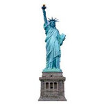 Paper House Productions - New York City Collection - Mini Die Cut Piece - Statue of Liberty