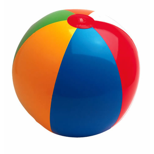Paper House Productions - Fun Beach Collection - Mini Die Cut Piece - Beach Ball