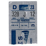 Paper House Productions - Football Collection - Mini Die Cut Piece - Ripped Ticket