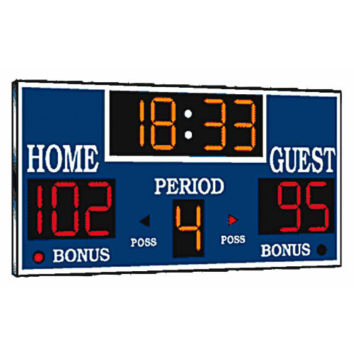 Paper House Productions - Basketball Collection - Mini Die Cut Piece - Scoreboard