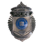 Paper House Productions - Police Collection - Mini Die Cut Piece - Police Badge