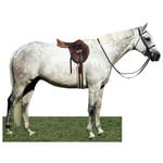 Paper House Productions - Horse Collection - Mini Die Cut Piece - Dapple Gray Horse