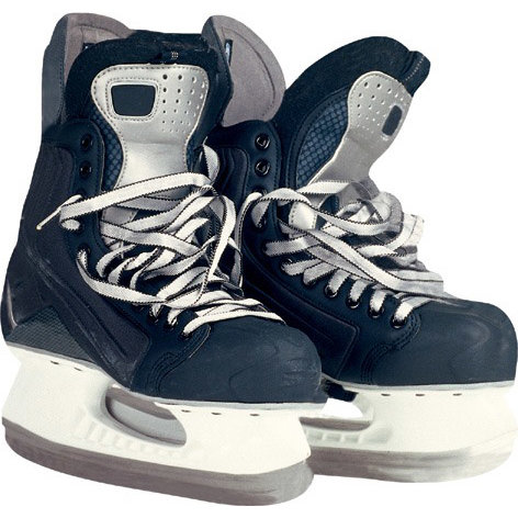Paper House Productions - Hockey Collection - Mini Die Cut Piece - Hockey Skates