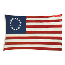 Paper House Productions - Pennsylvania Collection - Mini Die Cut Piece - Betsy Ross Flag