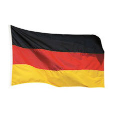 Paper House Productions - Germany Collection - Mini Die Cut Piece - German Flag