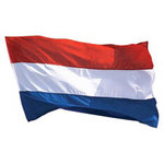 Paper House Productions - Holland Collection - Mini Die Cut Piece - Dutch Flag