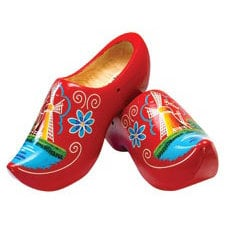 Paper House Productions - Holland Collection - Mini Die Cut Piece - Wooden Shoes