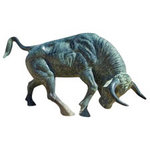 Paper House Productions - Spain Collection - Mini Die Cut Piece - Bull Statue