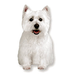 Paper House Productions - Dog Collection - Mini Die Cut Piece - Westie
