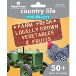 Paper House Productions - Mini Die Cut Pack - Country Life