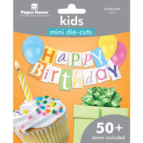 Paper House Productions - Mini Die Cut Pack - Kids