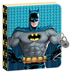 Paper House Productions - Diary with Foil Accents - Batman