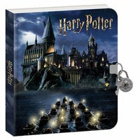 Paper House Productions - Diary with Invisible Ink - Harry Potter - Hogwarts at Night