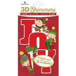 Paper House Productions - Christmas - 3 Dimensional LED Shimmers - Elf Joy