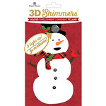 Paper House Productions - Christmas - 3 Dimensional LED Shimmers - Snowman