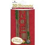 Paper House Productions - Christmas - 3 Dimensional LED Shimmers - Noel