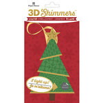 Paper House Productions - Christmas - 3 Dimensional LED Shimmers - Modern Christmas Tree