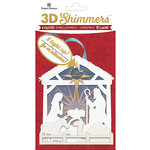 Paper House Productions - Christmas - 3 Dimensional LED Shimmers - Nativity