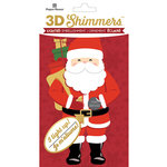 Paper House Productions - Christmas - 3 Dimensional LED Shimmers - Santa