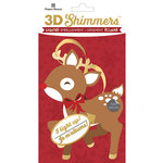 Paper House Productions - Christmas - 3 Dimensional LED Shimmers - Reindeer