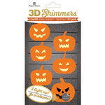 Paper House Productions - Halloween - 3 Dimensional LED Shimmers - Pumpkin Garland