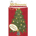 Paper House Productions - Christmas - 3 Dimensional LED Shimmers - Traditional Christmas Tree
