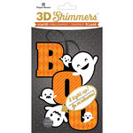 Paper House Productions - Halloween - 3 Dimensional LED Shimmers - Boo