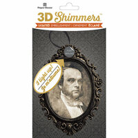 Paper House Productions - Halloween - 3 Dimensional LED Shimmers - Creepy Portrait
