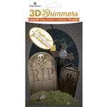 Paper House Productions - Halloween - 3 Dimensional LED Shimmers - Graveyard
