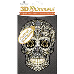 Paper House Productions - Halloween - 3 Dimensional LED Shimmers - Sugar Skull