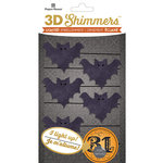 Paper House Productions - Halloween - 3 Dimensional LED Shimmers - Bat Garland