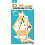 Paper House Productions - 3 Dimensional LED Shimmers - Champagne - Cheers
