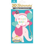 Paper House Productions - 3 Dimensional LED Shimmers - Baby Girl