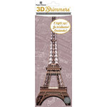 Paper House Productions - 3 Dimensional LED Shimmers - Eiffel Tower