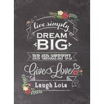 Paper House Productions - Lined Journal - Dream Big
