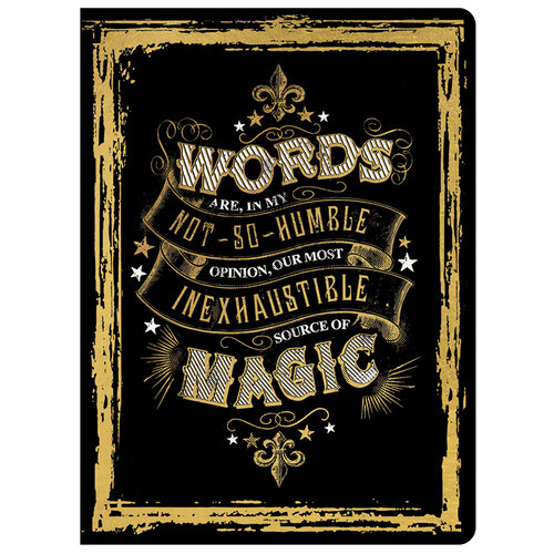 Paper House Productions - Magic Soft Cover Journal - Words