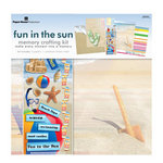 Paper House Productions - Fun in the Sun Collection - 12 x 12 Memory Crafting Kit