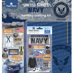Paper House Productions - 12 x 12 Memory Crafting Kit - United States Navy