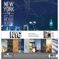 Paper House Productions - New York City Collection - 12 x 12 Paper Crafting Kit